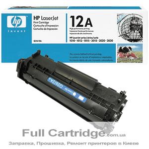 Картридж HP 12А Первопроходец