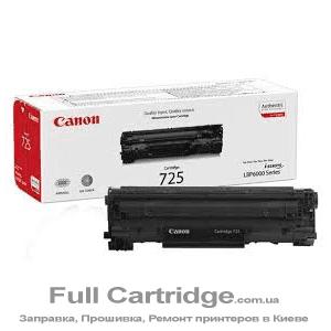 Восстановленный картридж Canon 725. Картридж первопроходец Canon 725